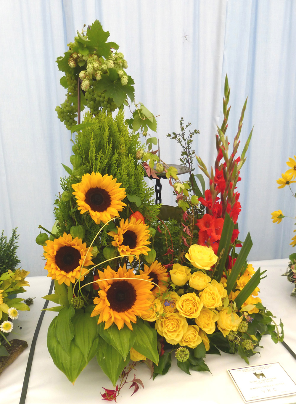 3. Diana Paul - Sunlight in the Garden (Thame Show 2014)